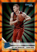 Dylan Wndler 2019-20 Donruss Orange Laser Parallel Rated Rookie Card #224 - $2.00
