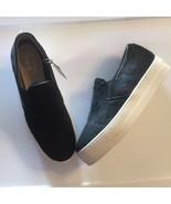 Skecher Plaform slip ons Street New Los Angeles Rise Fit Black calf hair... - $37.18