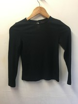 Girls Long Sleeve Crew Neck Black Jumper by NUTMEG - Age 9 - 10 Years - $6.46