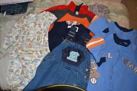 8 pc Lot Boys Size 18 m Clothing Lot  Blu Clues Gap, Koala Carters - $9.92