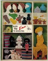 Vtg Knit African American Cosies Hat Toilet Roll Cover Crochet Potholder... - $12.99
