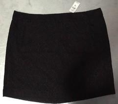 NWT ANN TAYLOR LOFT WOMEN SZ 16 Dark Green Burgundy LINED MINI SKIRT $55... - $19.85