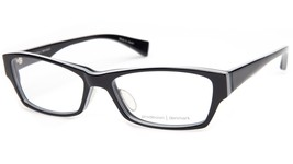 NEW PRODESIGN DENMARK 4675 c.6022 BLACK EYEGLASSES FRAME 52-17-140 B31mm... - $94.04