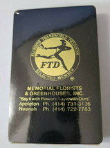 FTD MEMORIAL FLORISTS & GREENHOUSES INC. Deck of Playing Cards   (#36) image 2