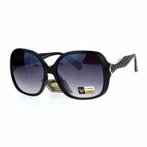 Stylish Fashion Sunglasses Women's Square Frame Classy Quilt Design UV 400 - $11.65