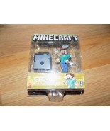 Minecraft Steve With Arrows Action Figure Toy New 2018 Mojang  - $15.00
