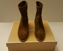Womens Michael Kors Suede Leather Sunny Bootie,... - $102.89