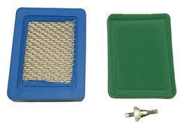 Air & Pre Filter for Briggs 491588S 5043 102-549 100-446 LG491588JD PT15853 New - $9.63