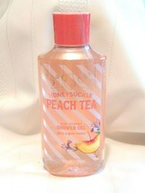 Bath & Body Works HONEYSUCKLE PEACH TEA Shower Gel 10oz / 295 ml - $12.30