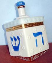 Mikasa Dreidel Covered Box Porcelain Judaica New In Box - $32.90