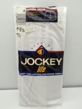 Jockey Life Tapered Boxer 1 Underwear 40 XL White Solid Cotton Blend 199... - $19.99