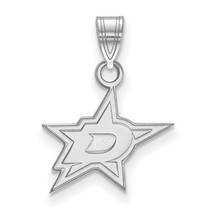 10kw NHL LogoArt Dallas Stars Small Pendant - $125.00
