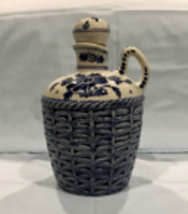 Lovely Vintage Delft Blue & White Jug From The Hoppe Distilleries Holland - $24.99