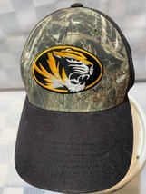 Missouri Mizzou Tigers University Camouflage Adjustable Adult Ball Cap Hat - $11.57
