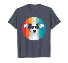 Vintage Dog Shirt Gift for Dog Lover Sunglasses Jack Russell T-Shirt Men - $19.99+