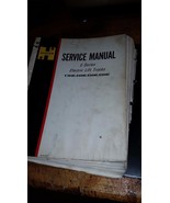 HYSTER E series electric Forklift Lift Truck SERVICE Manual repair e30ac... - $113.85