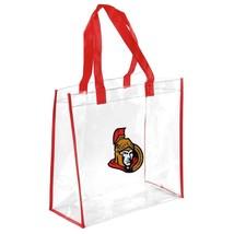 Ottawa Senators Clear Reusable Tote Handles Bag NHL Hockey Gift - $7.95