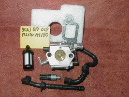 STIHL Chainsaw Aftermarket Service Carburetor to fit 017, 018, MS170, MS180 - $12.73