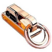 Creative Durable Portable Keychain Key Holder Pendant Key Ring Golden - $15.23