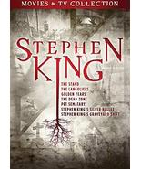 Stephen King TV and Film Collection DVD - $22.95