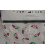 Tommy Hilfiger Watermelon on White Sheet Set Queen - $67.00