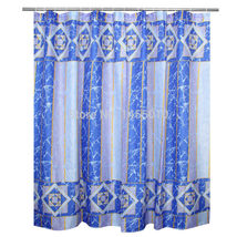 WIDEN Polyester Terylene Crack Waterproof Thicken Shower Curtains Bathroom Showe image 5