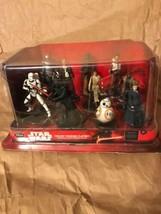 Disneyland  Star Wars The Force Awakens Deluxe Figurine Playset New in P... - $22.00