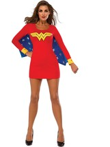 Rubie's Women's DC Superheroes Wonder Woman Cape Dress, Multi, Small - $54.25