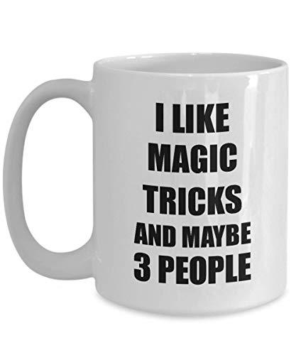 Primary image for Magic Tricks Mug Lover I Like Funny Gift Idea for Hobby Addict Novelty Pun Coffe