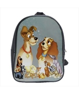 School bag lady and the tramp bookbag backpack 3 sizes - $38.00+