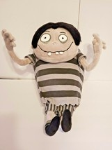 "Disney Black White Monster Zombie Boy Stripes Plush Stuffed Animal 15"" - $96.69"
