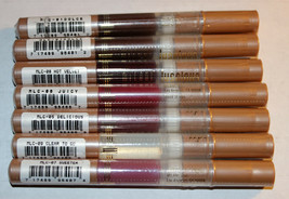 [7 Lot] Milani Luscious Lips Dolce, Hot Velvet, Juicy, Delicious, Clear, Sweeter - $25.15