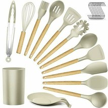Silicone Kitchen Utensils Cooking Utensil Set - Cooking Utensils Tools with - $45.20