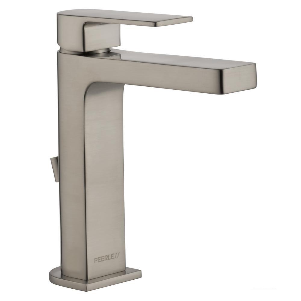 "Peerless P1519LF-LPU Xander 4"" Centerset 1-Handle Bathroom Faucet Less Drain, CH - $90.00"