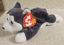 Ty Beanie Baby Nanook 1996 4th Generation Hang Tag PVC Filled - $17.81