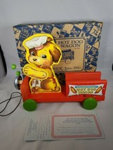 Hot Dog Wagon Toyfest Fisher Price Commemorative Limited Edition 2001 Box COA - $29.99