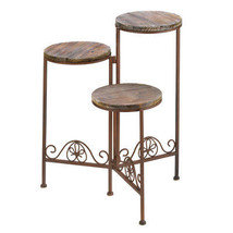Rustic Triple Planter Stand - $49.95