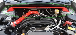 Fits 2019 Subaru Impreza, SSD Performance STRUT TOWER BRACE,BAR,One Piec... - $179.95