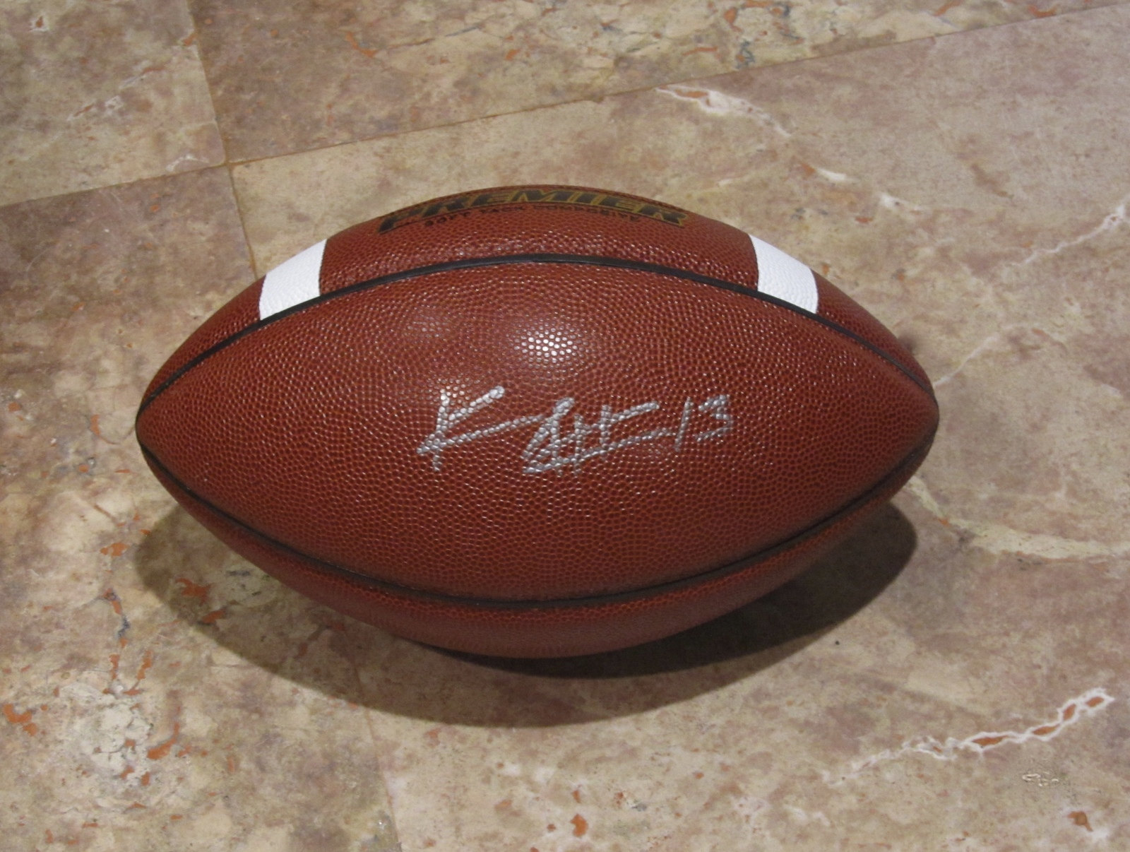 KEENAN ALLEN AUTOGRAPHED HAND SIGNED FOOTBALL SPALDING San Diego CHARGERS w/COA