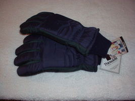 THINSULATE Thermal Insulation two-tone Green & Blue GLOVES By Swany with... - $16.99