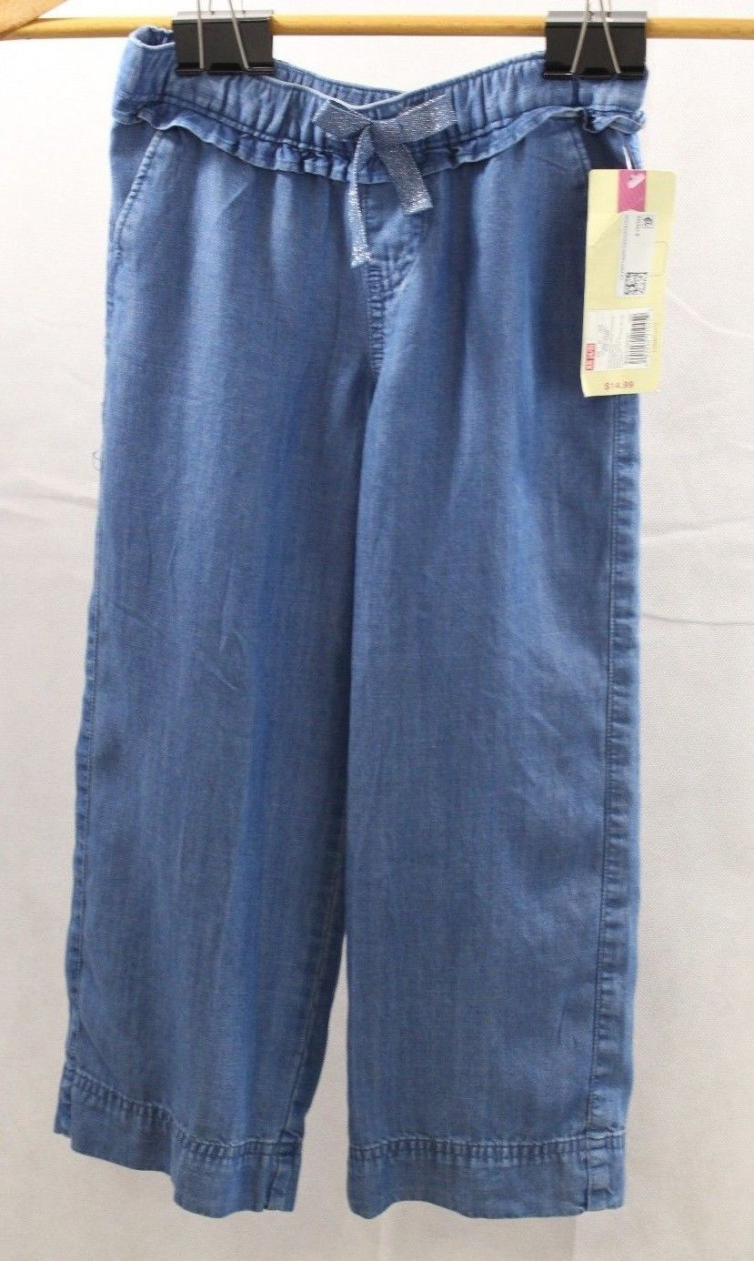 Primary image for Girls Cherokee Pants Elastic Waistband Blue Size S 6/6X