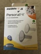 Medela Personal Fit 27mm Breastshields Breastfeeding Size L - New Free S... - $9.50