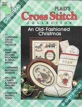 Plaid's Christmas #8121 - Cross Stitch Collection An Old-Fashioned Christmas - $6.93