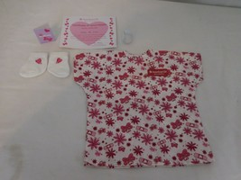 American Girl Doll Hospital Gown Socks Card  Get Better Outfit - $11.90