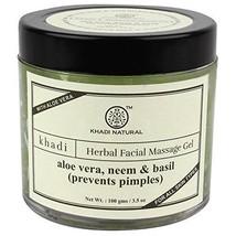 Khadi Natural Aloevera, Neem & Basil Face Massage Gel 100g - $15.17