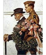 Memorial Day J. C. Leyendecker Art Print - 7 in x 10 in - Unmatted, Unframed - £3.65 GBP