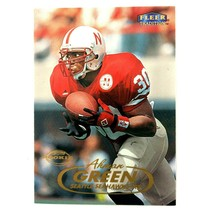 Ahman Green 1998 Fleer Tradition Rookie Card #230 Seahawks Packers Cornh... - $1.93