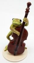 "Hagen Renaker Specialties ""Froggy Mountain Breakdown"" Frog Bass Player #... - £20.86 GBP"