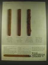 1965 Wills Castella Cigars Ad - Unwrap the finely textured Connecticut w... - $14.99