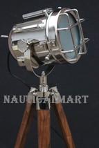 Floor Lamp Home Decorative Vintage Design Tripod Lighting By NauticalMart - $148.01